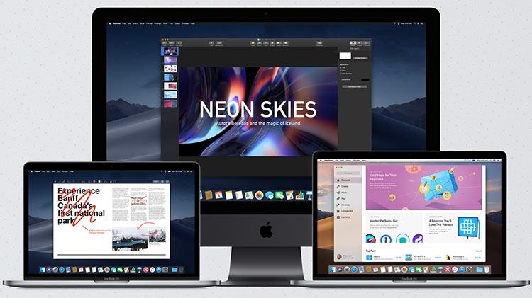 Фото - Apple анонсировала macOS Mojave с тёмным стилем»