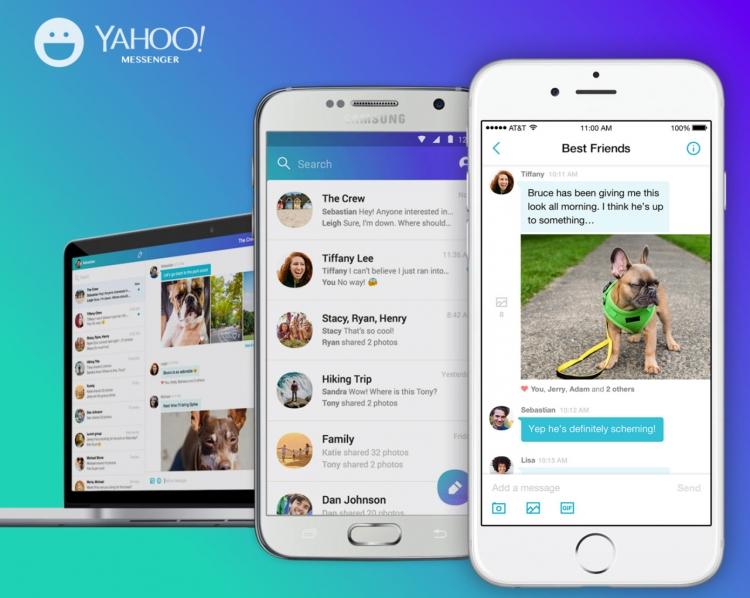 Фото - Мессенджер Yahoo прекратит работу 17 июля»