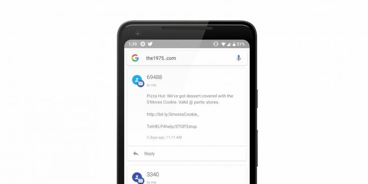 Фото - Необычный баг Android позволяет читать личные сообщения»